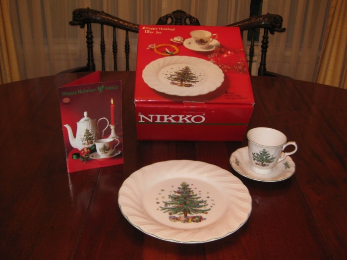 Christmas China & Variety - Lydia's New & Used Treasures!